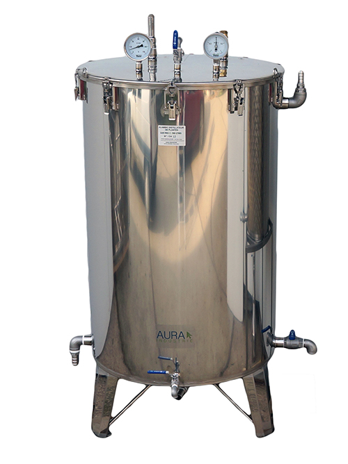CUVES Inox Purification foin